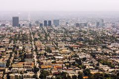 Residential area of Los Angeles Stock Images