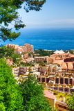 Residential  area of Monaco Royalty Free Stock Photo