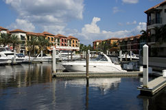 Residential Area in Naples. Typical residential area in Naples Florida USA royalty free stock images