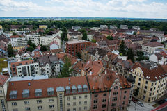 Residential Area Neu Ulm Landscape Buildings Day Stock Images