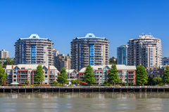 Residential area in New Westminster Stock Photos