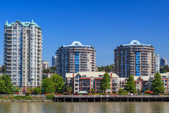 Residential area in New Westminster. British Columbia, Canada Stock Image