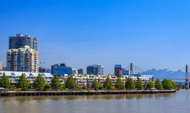 Residential area in New Westminster Royalty Free Stock Photography