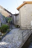 Residential area - old town Stock Images