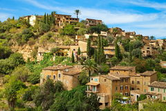 Residential area in Port Soller  Mallorca. Residential area in Port Soller.  Mallorca Stock Photo