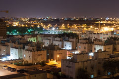 Residential area in Riffa, Bahrain Royalty Free Stock Photo