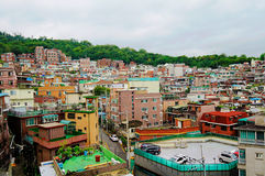 Residential area in Seoul Stock Photo