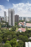 Residential area in Singapore Royalty Free Stock Photo