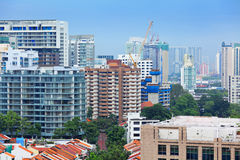 Residential area in Singapore Royalty Free Stock Image