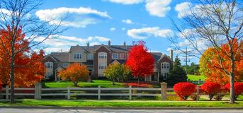 Residential Area View royalty free stock photos