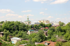 Residential area of Vladimir Royalty Free Stock Photography