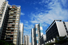 Residential areas Stock Image