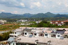 Residential areas in anhui Stock Images