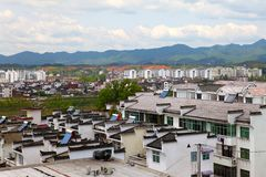 Residential areas in anhui Stock Image