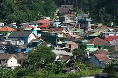 Residential areas in  batu Royalty Free Stock Images