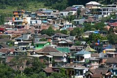 Residential areas in  batu Royalty Free Stock Photography