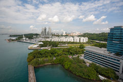 Residential areas of Singapore Stock Photos