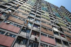 Residential block in hong kong Stock Photography