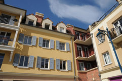 Residential block in Vaureal Royalty Free Stock Photos