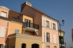 Residential block in Vaureal Royalty Free Stock Photos