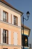 Residential block in Vaureal Stock Image