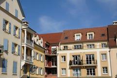 Residential block in Vaureal Royalty Free Stock Image
