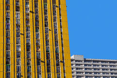 Residential blocks Royalty Free Stock Photography