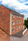 Residential brick house Royalty Free Stock Photography