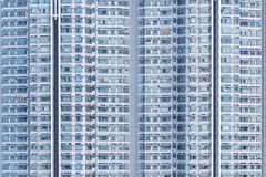 Residential buiilding Stock Image