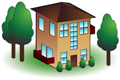 Residential Building Stock Image