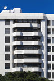 Residential building. Building facade full of luxury apartments Royalty Free Stock Image