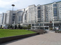 Residential building in Astana Royalty Free Stock Photo