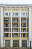 Residential building with balconies Royalty Free Stock Photo