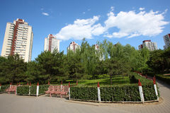 Residential building at beijing Stock Photo