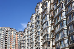 Residential building at beijing Royalty Free Stock Photos