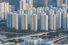 Residential building. S in Hong Kong Royalty Free Stock Images