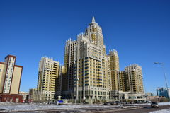 A residential building called Triumph of Astana Stock Images