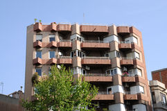 Residential building in the city Royalty Free Stock Photography