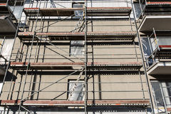 Residential building construction site royalty free stock photography