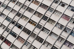 Residential building detail in sao paulo Royalty Free Stock Images