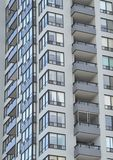 Residential building. Edge of a modern residential building Royalty Free Stock Images