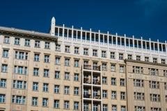 Residential building exterior in Berlin - building facade - Stock Photo