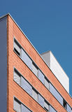 Residential building exterior concrete and brick Stock Photography