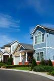 Residential building exterior design Stock Image