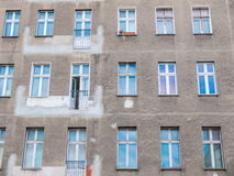 Residential Building Exterior Under Renovation Royalty Free Stock Image