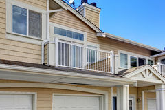 Residential building exterior. Stock Image