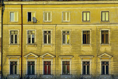 Residential building facade Stock Photography