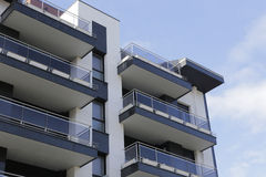 Residential building facade Royalty Free Stock Photography