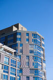 Residential building in gothenburg. Sweden. Modern architecture royalty free stock photo