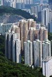 Residential Building in Hong Kong. Residential district of Hong Kong Royalty Free Stock Photography